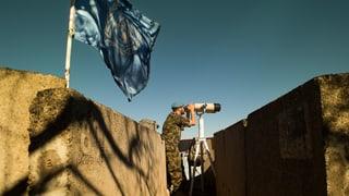 Schweizer Blaumützen am Golan – Beobachter an sensibler Grenze
