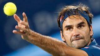 Federer è en mezfinal a Dubai