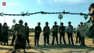 Burma: Polizei schlägt Protest nieder