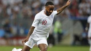 Sterling fehlt England gegen die Schweiz