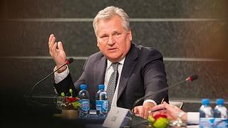 Kwasniewski: «Putin will das Sowjetimperium wiederherstellen»