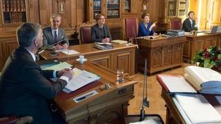 Parlamentarier wollen Protokollführer bei Bundesratssitzungen