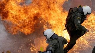 Ausschreitungen überschatten Generalstreik in Griechenland