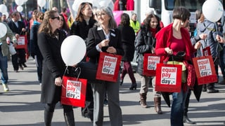 Frauen fordern «Lohngleichheit jetzt!»