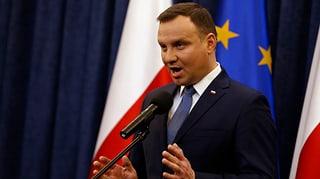 Polens Präsident Duda bestätigt umstrittenes Gesetz