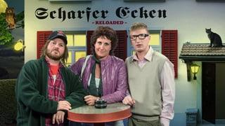 «Scharfer Ecken – Reloaded»: alle Folgen des neuen Jass-Sketches