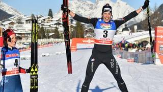 Van der Graaff feiert 2. Weltcupsieg