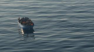 Mit der italienischen Marine im Notstandsgebiet