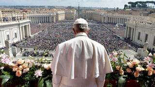 «Urbi et Orbi» und die spontane Predigt des Papstes