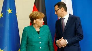 Merkel sieht «ernsthafte Meinungsunterschiede»