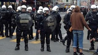 Friedlicher 1. Mai - Strategie der Polizei ging auf