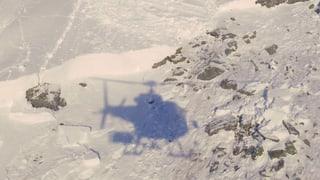 Drei Wanderer aus einer Lawine bei St-Luc im Val d'Anniviers gerettet.