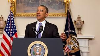 Obama: Dank an die Schweiz für Hilfe bei Gefangenenaustausch