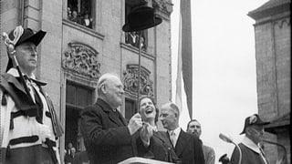 Das war 1946: Churchill in Zürich, UNO und Nürnberger Prozesse