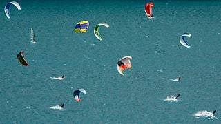 Rückenwind für Kitesurf-Verbot auf dem Hallwilersee