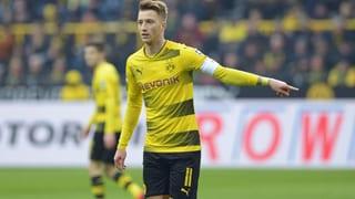 Dortmund siegreich bei Reus-Comeback