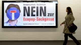 Ecopop mobilisierte vor allem das politisch linke Lager