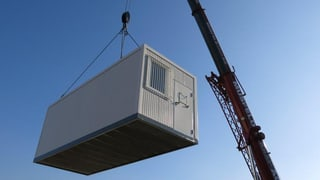 Container für Häftlinge - Baselland reagiert