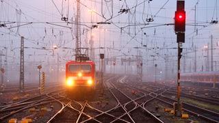 Deutscher Bahnstreik trifft die Schweiz