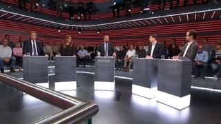 «Arena»: Wenn FDP und SP zusammenspannen