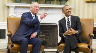 Barack Obama ist neidisch auf Prinz Charles