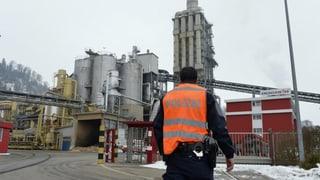 Drei Tote nach Schüssen in Luzerner Holzfabrik
