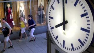 Luzerner sprechen sich gegen längere Ladenöffnungszeiten aus