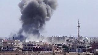 Schweiz hält nichts von Militäreinsatz in Syrien
