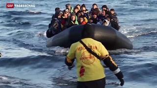 EU macht Druck auf Griechenland – «Schengen» steht auf der Kippe