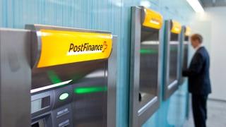 Postfinance wirft immer weniger Gewinn ab
