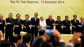 USA und China werben um Südostasien