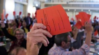 Steuer-AHV-Kompromiss kommt bei SP-Delegierten durch