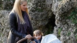 Michelle Hunziker: Frühlingsausflug mit Baby Celeste