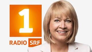 Daniela Lager geht zum Radio