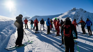 Die Skiorte sind zuversichtlich, die Stimmung ist gut. Die Buchungen über die Weihnachtszeit haben gegenüber dem letzten Jahr zugenommen.