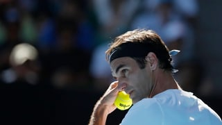 Federer ohne Makel, aber mit Luft nach oben