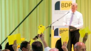 BDP sagt Ja zum Nachrichtendienstgesetz