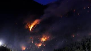 Adina puspè: Gronds incendis da guaud en Svizra
