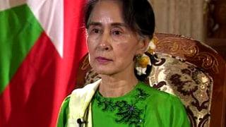 Aung San Suu Kyi: «Ethnische Säuberung ist ein zu hartes Wort»