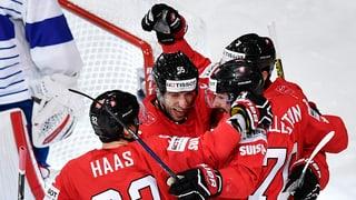 Svizra gudogna ses emprim gieu dal campiunadi mundial da hockey