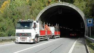 Regenza vul tunnel per dapli segirezza sin la A13