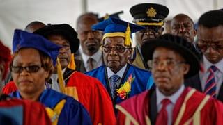 Mugabe erstmals wieder in der Öffentlichkeit