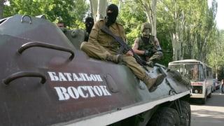 Wieder Tote bei Gefechten in der Ostukraine