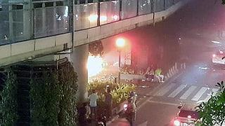 Explosiun en il center da Bangkok