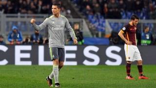 So bezwang Real Madrid die AS Roma