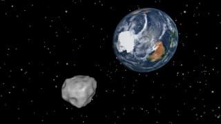 Hier müssen Sie hin, um den Asteroiden zu sehen!