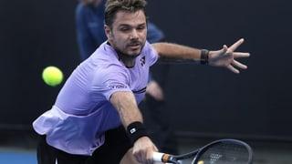 Stan Wawrinka en la segunda runda da l'Australian Open