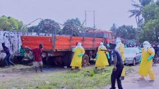 Flüchtender Ebola-Patient sorgt für Panik