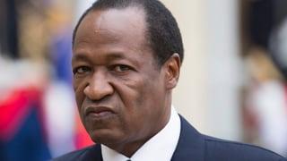 Staatschef von Burkina Faso tritt ab