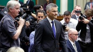 Volkswagens US-Chef im Büsserhemd vor dem Kongress